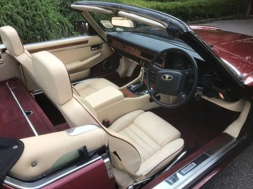 1991 XJS CONVERTIBLE V12 AUTO SOLD (picture 4 of 6)