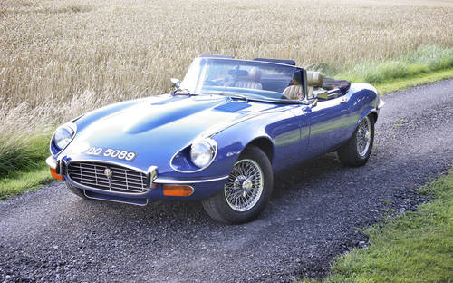 1973 Jaguar E-Type SIII Roadster **SOLD** For Sale (picture 1 of 6)