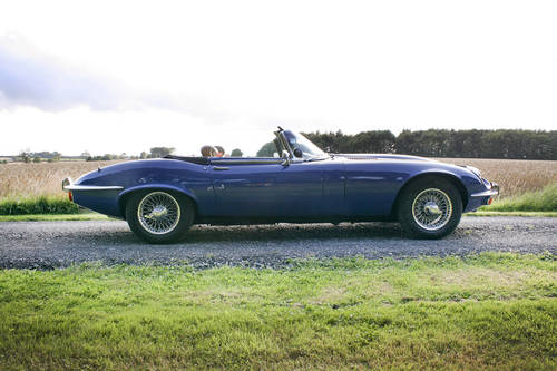 1973 Jaguar E-Type SIII Roadster **SOLD** For Sale (picture 2 of 6)