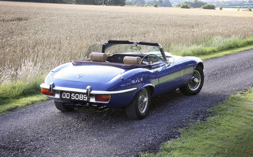 1973 Jaguar E-Type SIII Roadster **SOLD** For Sale (picture 3 of 6)