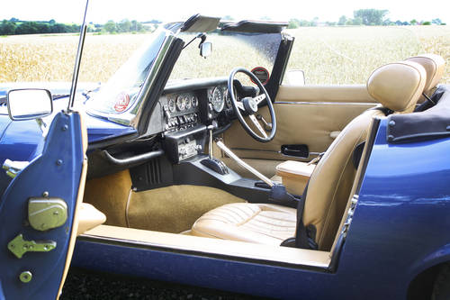 1973 Jaguar E-Type SIII Roadster **SOLD** For Sale (picture 5 of 6)