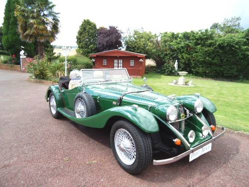 1985 Jaguar SS100 Repro coachbuilt For Sale (picture 1 of 6)