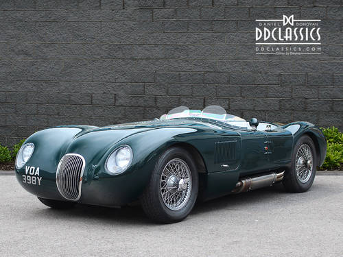 1951 Jaguar C-Type Recreation (RHD) SOLD (picture 1 of 6)