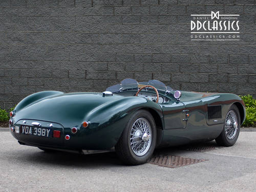 1951 Jaguar C-Type Recreation (RHD) SOLD (picture 2 of 6)