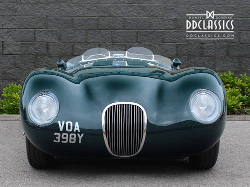 1951 Jaguar C-Type Recreation (RHD) SOLD (picture 3 of 6)