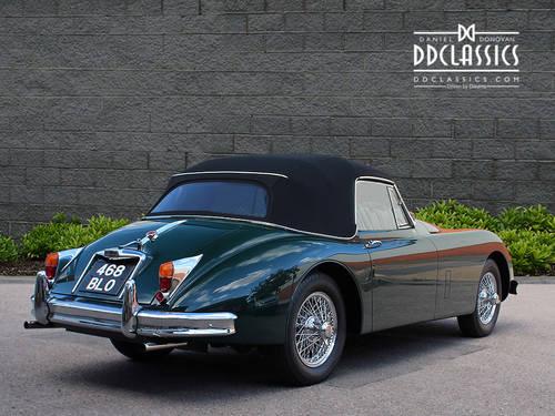 1960 Jaguar XK150 3.8 S Drophead Coupe (RHD) SOLD (picture 2 of 6)