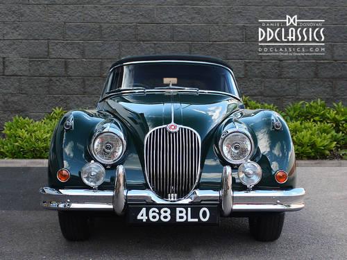 1960 Jaguar XK150 3.8 S Drophead Coupe (RHD) SOLD (picture 3 of 6)