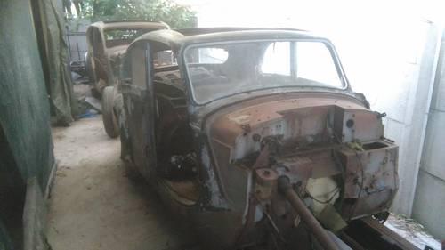 1950 JAGUAR MK V SALOON + PARTS For Sale (picture 1 of 6)