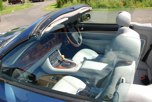 2003 JAGUAR XK8 CONVERTABLE For Sale (picture 1 of 6)