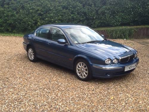 2001 Jaguar X Type 4x4 one owner 20,000 miles SOLD (picture 1 of 6)