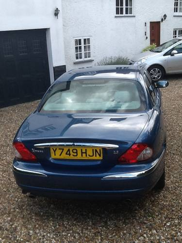 2001 Jaguar X Type 4x4 one owner 20,000 miles SOLD (picture 3 of 6)