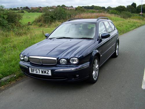 2007 EXCELLENT JAGUAR X-TYPE 2.2D SOVEREIGN ESTATE SATNAV LEATHER SOLD (picture 1 of 6)