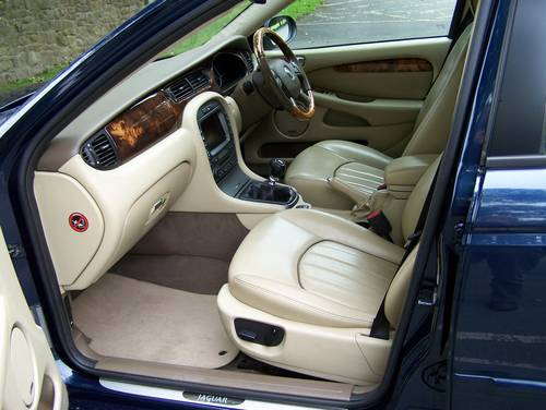2007 EXCELLENT JAGUAR X-TYPE 2.2D SOVEREIGN ESTATE SATNAV LEATHER SOLD (picture 5 of 6)