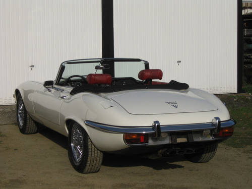 1972 E-Type V12 Open Two Seater, LHD For Sale (picture 6 of 6)