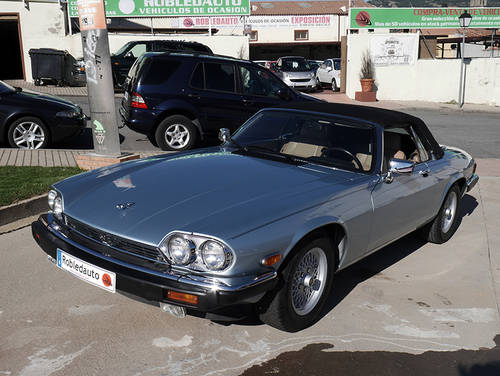 1990 Jaguar XJS Convertible 5.3 V12 For Sale (picture 1 of 6)