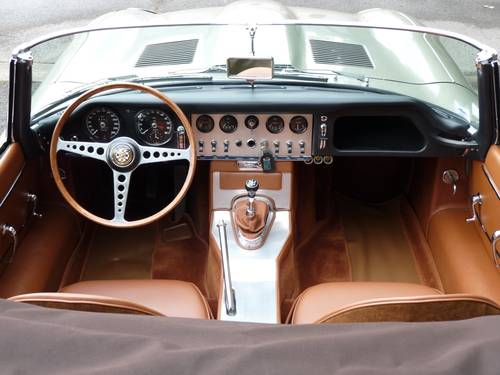 1961 Jaguar Type E serie I 3,8 L For Sale (picture 3 of 6)