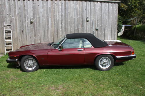1989 XJS convertible For Sale (picture 1 of 5)