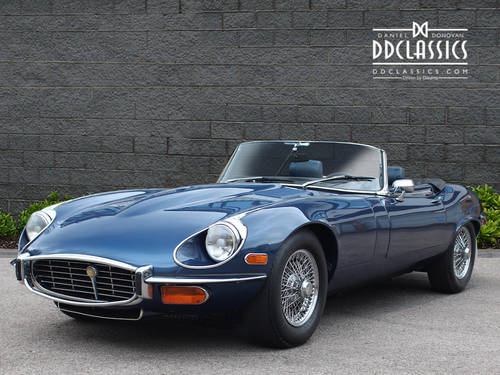 1972 Jaguar E-Type Series III V12 Roadster LHD SOLD (picture 1 of 6)