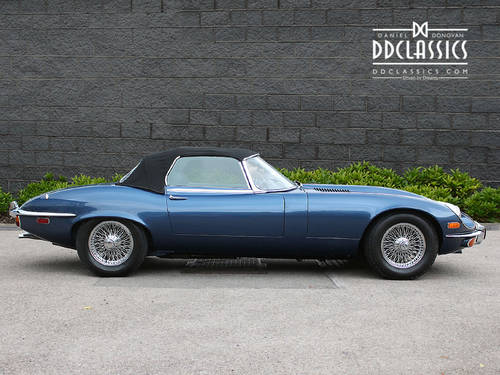 1972 Jaguar E-Type Series III V12 Roadster LHD SOLD (picture 2 of 6)