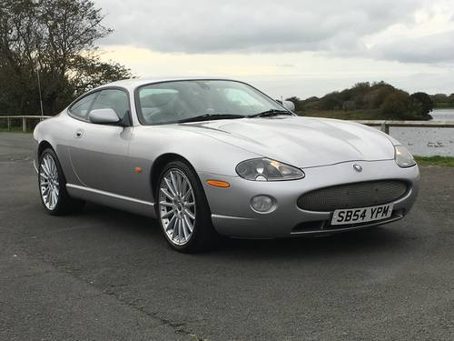 2005 JAGUAR XK8 4.2 COUPE JUST 70,000 MILES For Sale (picture 1 of 6)