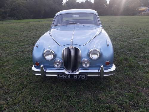 1964 Jaguar Mk2 3.8 Manual with Overdrive SOLD (picture 1 of 6)