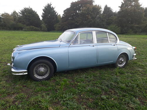 1964 Jaguar Mk2 3.8 Manual with Overdrive SOLD (picture 2 of 6)