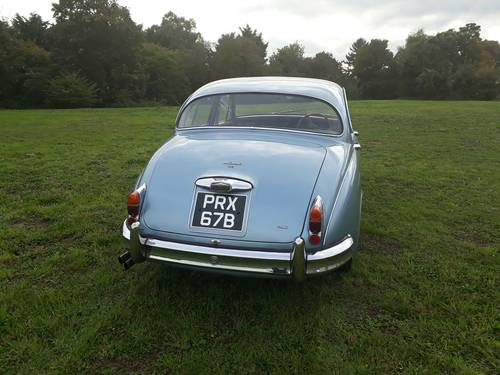 1964 Jaguar Mk2 3.8 Manual with Overdrive SOLD (picture 3 of 6)