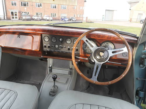 1964 Jaguar Mk2 3.8 Manual with Overdrive SOLD (picture 4 of 6)