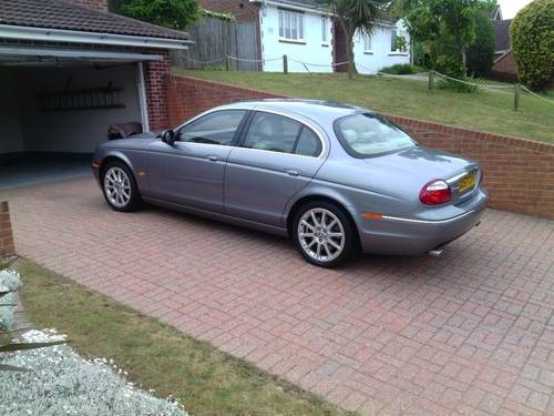 2007 Jaguar s-type s.e  ultra low 7071 genuine miles For Sale (picture 2 of 6)