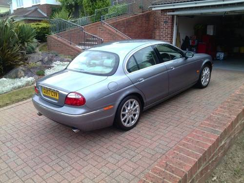 2007 Jaguar s-type s.e  ultra low 7071 genuine miles For Sale (picture 6 of 6)