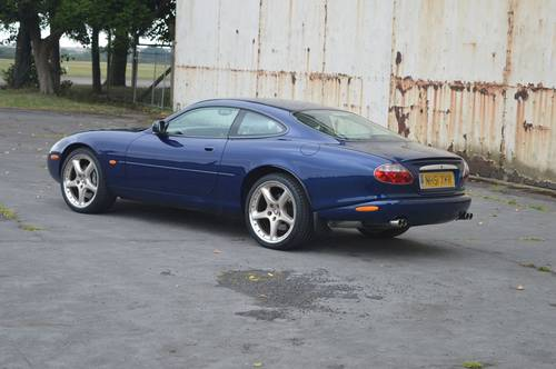 2001 Jaguar XKR 4 0 coupe 60k only stainless exhaust SOLD