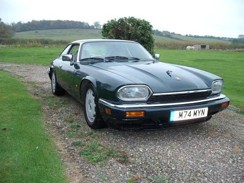 Jaguar XJS Celebration 4.0 1995 £6k+ Spent Low Ownership BRG SOLD (picture 1 of 6)