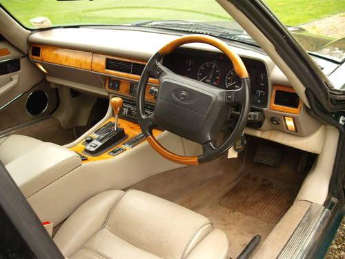 Jaguar XJS Celebration 4.0 1995 £6k+ Spent Low Ownership BRG SOLD (picture 3 of 6)