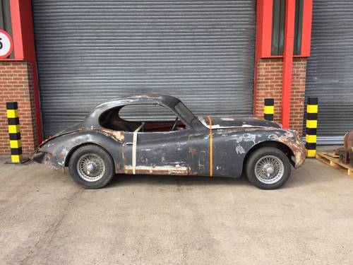 1955 Jaguar XK140 3.4 FHC - RHD - For Restoration SOLD (picture 1 of 5)