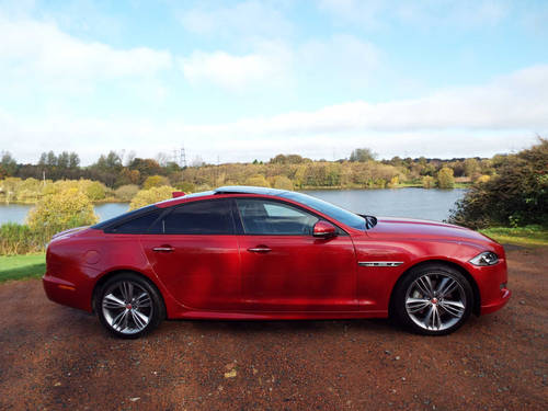 2015 Jaguar XJ 300R Sport - very low miles 2016 model For Sale (picture 1 of 6)