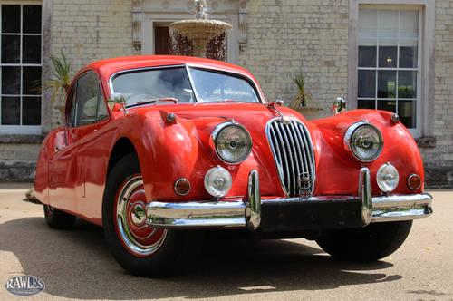 1956 Jaguar XK140 FHC   50,000 original miles, original RHD car. SOLD (picture 1 of 6)