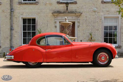 1956 Jaguar XK140 FHC   50,000 original miles, original RHD car. SOLD (picture 3 of 6)
