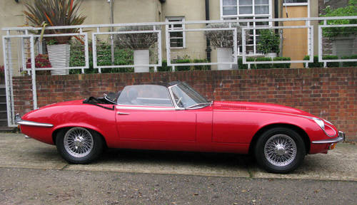 1971 JAGUAR 'E' TYPE ROADSTER SPECIFICATION (SIGNAL RED) For Sale (picture 2 of 6)