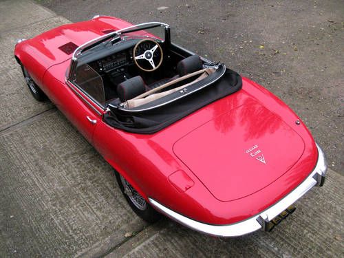 1971 JAGUAR 'E' TYPE ROADSTER SPECIFICATION (SIGNAL RED) For Sale (picture 6 of 6)