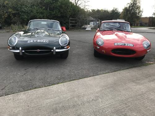 1964 Jaguar E Type For Sale (picture 1 of 5)