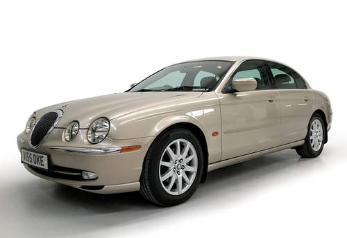 1999 Jaguar S-Type 3.0 V6 manual with just 16,900 miles SOLD (picture 1 of 6)