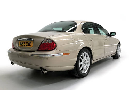 1999 Jaguar S-Type 3.0 V6 manual with just 16,900 miles SOLD (picture 2 of 6)