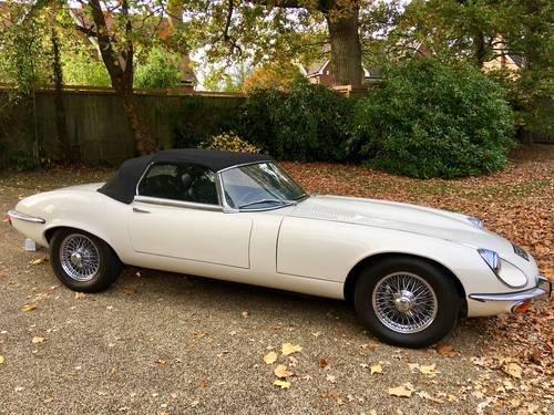 1973 Jaguar E-Type Series 3 V12 Convertible Automatic For Sale (picture 2 of 6)