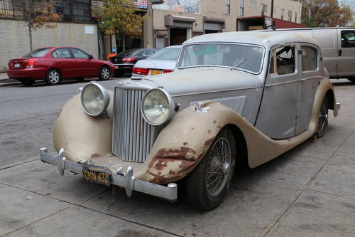 1949 Jaguar Mark IV LHD # 22045 For Sale (picture 1 of 6)