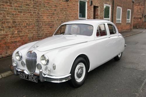 1958 Jaguar MKI 2.4, unrepeatable originality SOLD (picture 1 of 6)