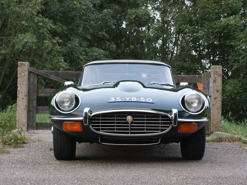 1974 Jaguar E-Type Series III V12 OTS with hard top For Sale (picture 2 of 6)