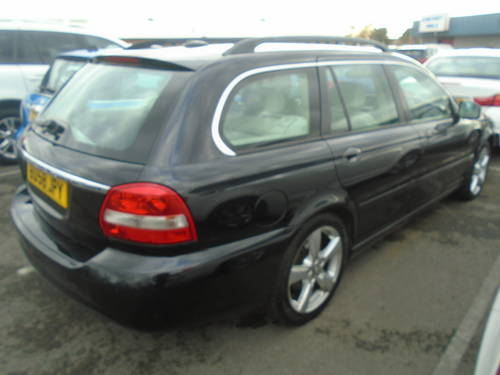 2008 58 PLATE DIESEL JAGUAR X TYPE IN BLACK MOTED JUNE SMART For Sale (picture 3 of 6)