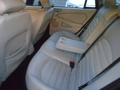 2008 58 PLATE DIESEL JAGUAR X TYPE IN BLACK MOTED JUNE SMART For Sale (picture 6 of 6)