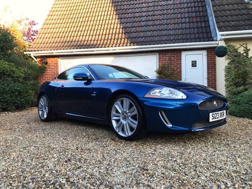 2009 JAGUAR XKR 5.0 COUPE JUST 46700 MLS ( SIMILAR CARS REQUIRED) For Sale (picture 1 of 6)
