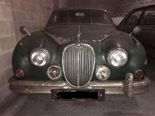 jaguar mk2 2.4 manual restoration project - 1 former keeper SOLD (picture 1 of 5)